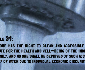 Article 31: The Right to Water