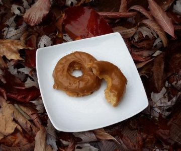 Maple Glazed Apple Cider Donuts