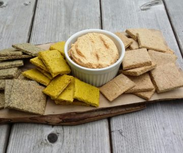 Savory Crunchy Crackers