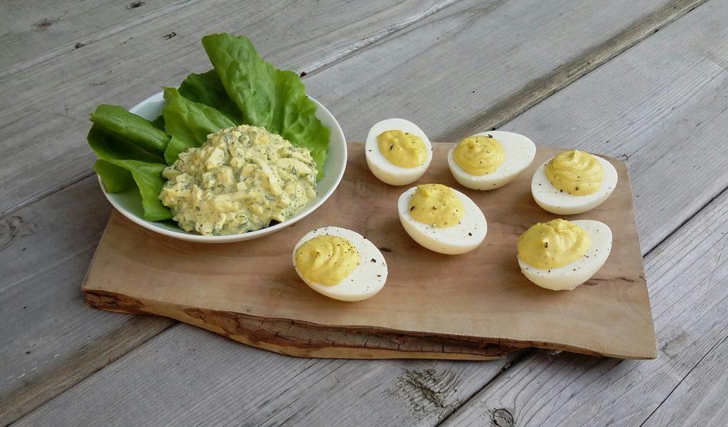 Egg Salad & Deviled Eggs