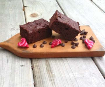 Paleo Chocolate Beet Brownies