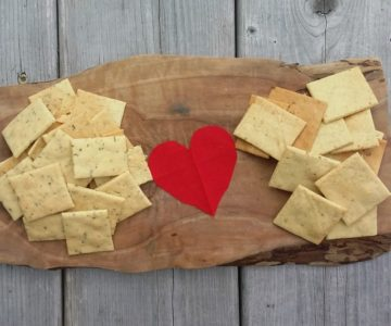 Savory Crackers for Gift Giving