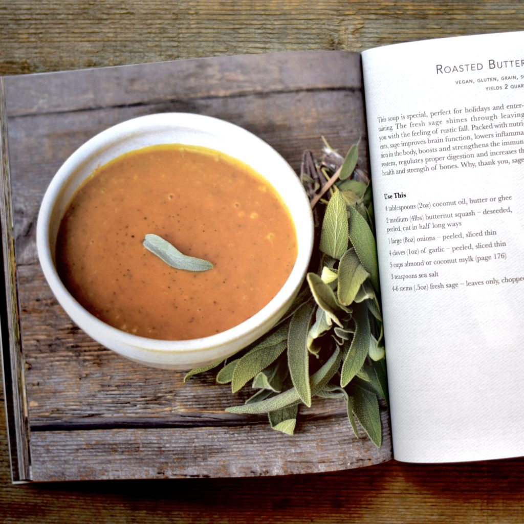 Natural Contents Cookbook_Butternut Sage Soup