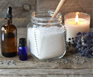{Guest Post} Epsom Salt Essential Oil Detox Bath