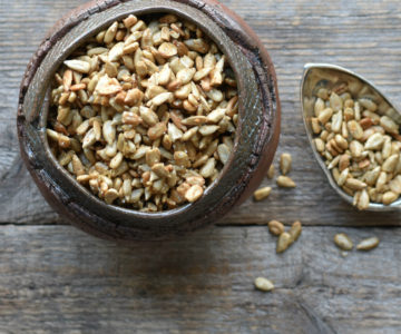 Savory smokey roasted sunflower seeds, the perfect power snack.