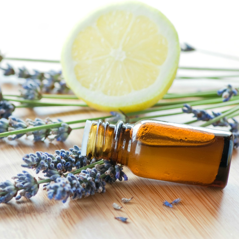 Essential oils for the common cold.