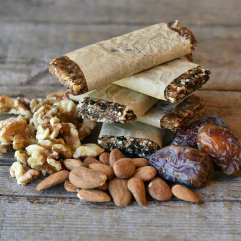 Homemade Fruit & Nut Energy Bars Three Ways