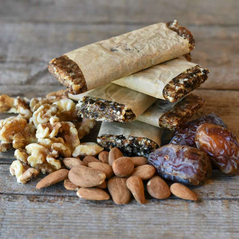 Homemade Fruit & Nut Energy Bars Three Ways