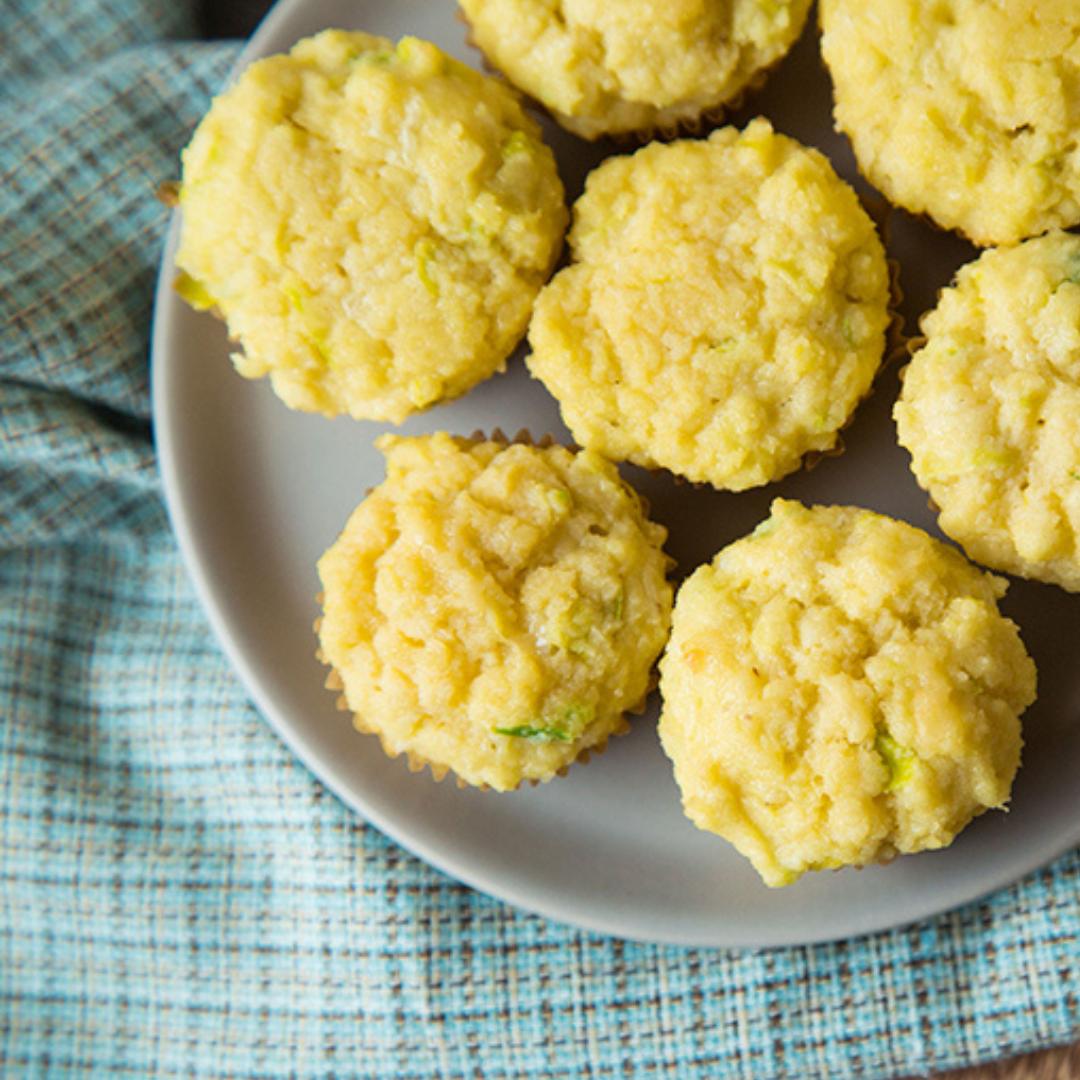 Update from Headquarters + Savory Leek & Cheddar Mini Muffin Recipe